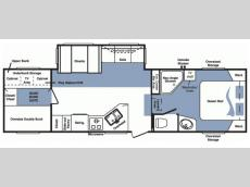 Floorplan - 2007 Keystone RV Cougar 314BHS