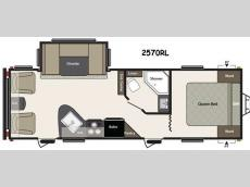 Floorplan - 2015 Keystone RV Summerland 2570RL