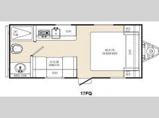 Floorplan - 2015 Coachmen RV Viking Ultra-Lite 17FQ