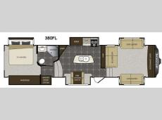 Floorplan - 2015 Keystone RV Avalanche 380FL