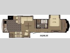 Floorplan - 2015 Redwood RV Sequoia SQ38LSE
