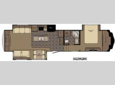 Floorplan - 2015 Redwood RV Sequoia SQ38QRE