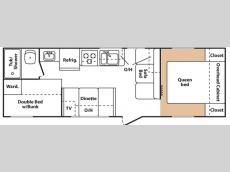 Floorplan - 2007 Keystone RV Summerland 2600 TB