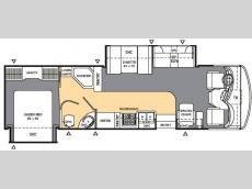Floorplan - 2007 Coachmen RV Mirada 310 DS
