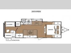 Floorplan - 2016 Dutchmen RV Aspen Trail 2650RBS