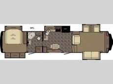 Floorplan - 2016 Redwood RV Redwood 39FL