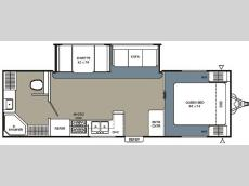Floorplan - 2007 Coachmen RV Spirit of America 27 RBS