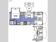 Floorplan - 2017 Forest River RV Sunseeker LE 2250SLE Ford