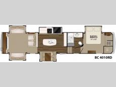 Floorplan - 2017 Heartland Big Country 4010RD
