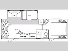 Floorplan - 2006 SunnyBrook Sunset Creek 267 RL