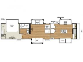 Floorplan - 2017 RiverStone 39FK