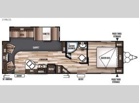 Floorplan - 2016 Forest River RV Wildwood 27RLSS