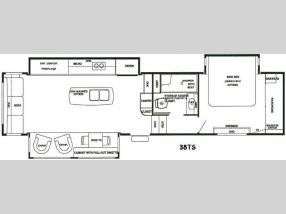 Floorplan - 2016 RiverStone 38TS