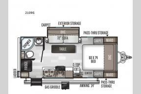 Used 2020 Forest River RV Rockwood Mini Lite 2109S Photo