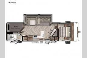 New 2022 Forest River RV Wildwood 26DBUD Photo