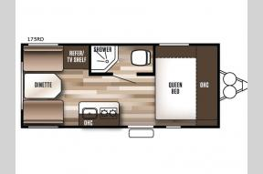 Used 2018 Forest River RV Wildwood X Lite FS 175RD Photo