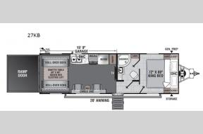 New 2021 Forest River RV Work and Play 27KB Photo