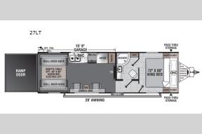 New 2021 Forest River RV Work and Play 27LT Photo