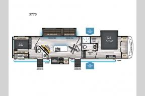 New 2022 Forest River RV Cherokee Arctic Wolf Suite 3770 Photo