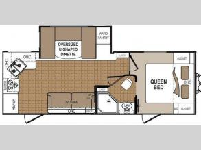 Floorplan - 2012 Dutchmen RV Denali 246RK