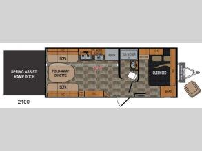 Floorplan - 2013 Dutchmen RV Rubicon 2100