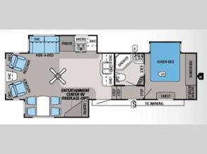 Floorplan - 2014 Jayco Eagle 31 5RLTS