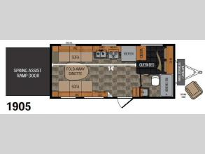 Floorplan - 2015 Dutchmen RV Rubicon 1905