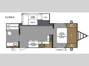 Surveyor 241RBLE Floorplan Image