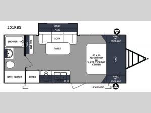Surveyor 201RBS Floorplan Image