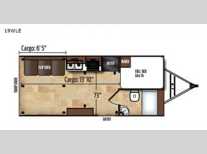Work and Play 19WLE Floorplan Image