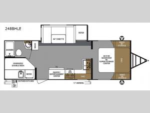 Surveyor 248BHLE Floorplan Image