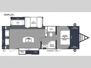 Surveyor 266RLDS Floorplan Image
