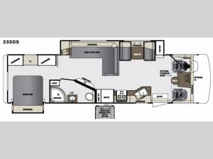 Georgetown 335DS Floorplan Image