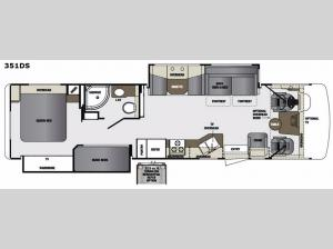 Georgetown 351DS Floorplan Image