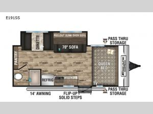 Escape E191SS Floorplan Image