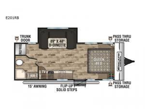 Escape E201RB Floorplan Image