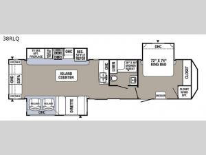 Puma Destination 38-RLQ Floorplan Image