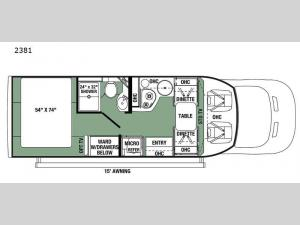 Forester TS 2381 Floorplan Image