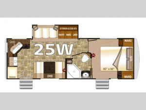 Arctic Fox 25W Floorplan Image