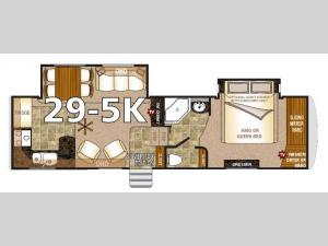 Arctic Fox 29-5K Floorplan Image