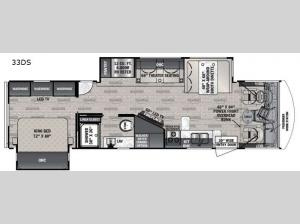 FR3 33DS Floorplan Image