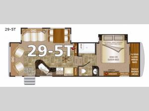 Arctic Fox 29-5T Floorplan Image
