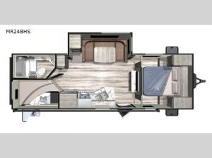 Mesa Ridge Conventional MR24BHS Floorplan Image