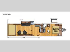 Iconic Wide Lite 3222SWG Floorplan Image