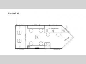 Ice Castle Fish Houses Limited XL Floorplan Image