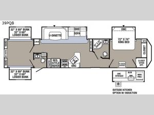 Puma Destination 39-PQB Floorplan Image