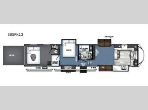 Vengeance Touring Edition 385FK13 Floorplan Image