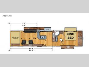 Iconic Wide Body 3515IKG Floorplan Image