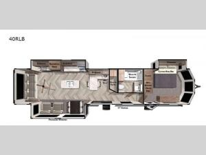 Salem Villa Series 40RLB Floorplan Image