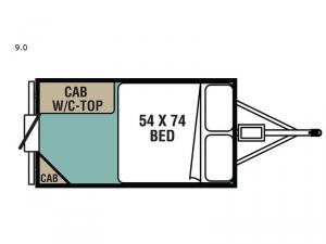 Express Series 9.0 Floorplan Image